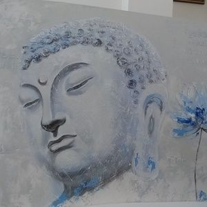 New BLUE DIETY Far East Collection oil painting